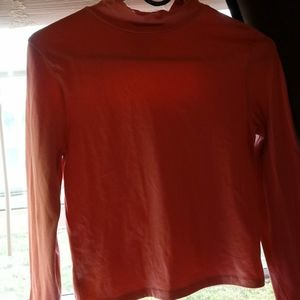 Wild fable coral long sleeve top